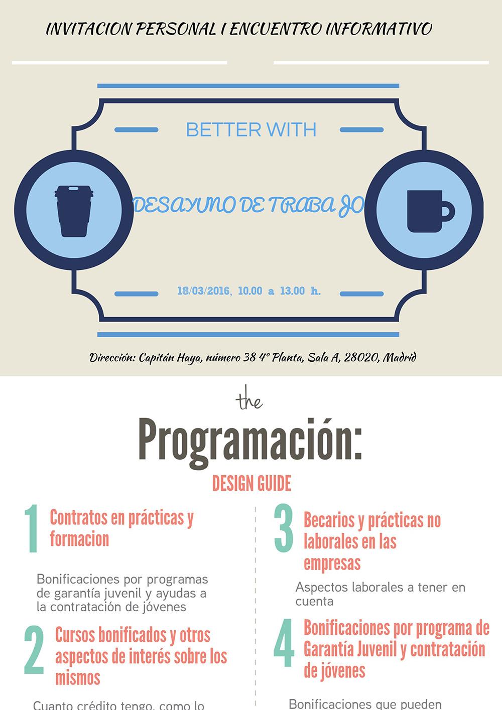 Invitacion I Encuentro Informativo